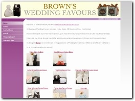 http://www.brownsweddingfavours.co.uk website