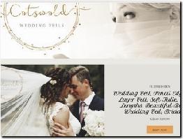 http://www.cotswoldweddingveils.co.uk/ website