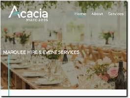 http://www.acacia-marquees.co.uk website