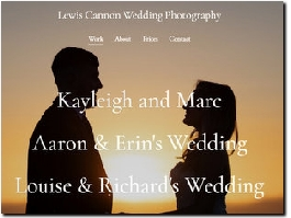 http://www.lewiscannonphotography.co.uk website