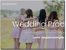 https://www.ayre.events/weddings website