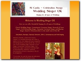 http://weddingsinger-uk.net website