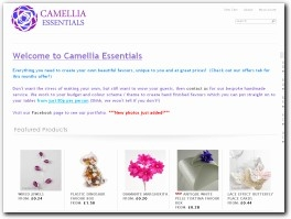 http://www.camelliaessentials.co.uk website