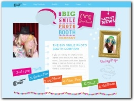 http://www.bigsmilephotobooths.co.uk website
