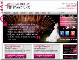 http://www.weddingdisplayfireworks.co.uk/ website