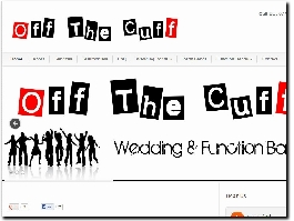 http://www.offthecuffweddingband.co.uk website