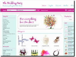 http://www.theweddingparty.co.uk website