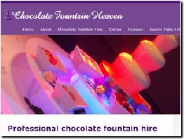 http://www.chocolatefountainheaven.co.uk website