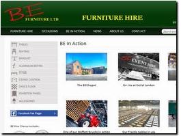 http://www.beeventhire.co.uk website