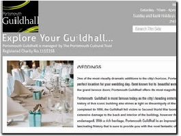 http://www.portsmouthguildhall.org.uk website