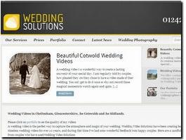 http://www.weddingvideosolutions.co.uk/ website