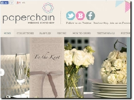 http://www.paperchainweddingstationery.co.uk website