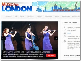 http://musicforlondon.co.uk website