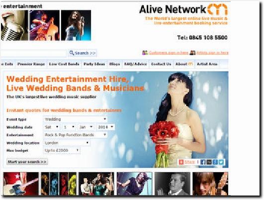http://www.alivenetwork.com website
