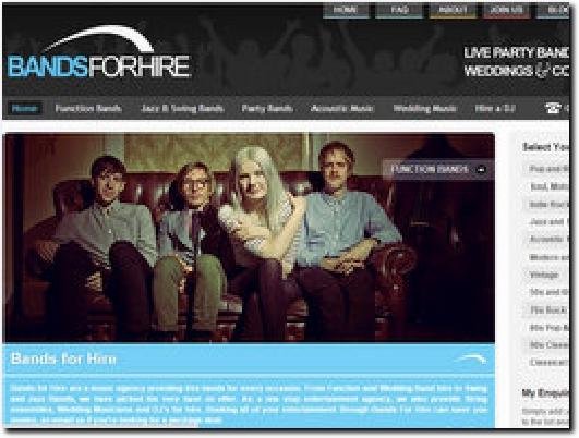 http://www.bandsforhire.net website