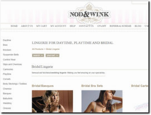 http://nodandawink.com/Bridal-Lingerie website