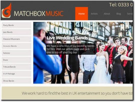 http://www.matchboxmusic.co.uk website