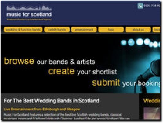 http://musicforscotland.co.uk website