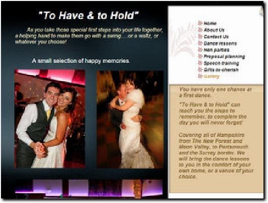 http://www.weddingdancehampshire.co.uk website
