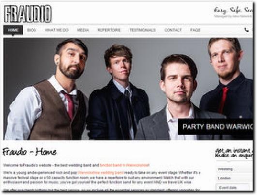 http://www.fraudioband.co.uk website