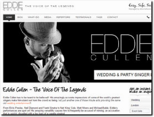 http://www.eddiecullen.co.uk/ website