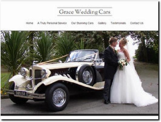 http://www.graceweddingcars.co.uk/ website