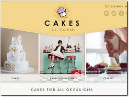 http://www.cakesbyrobin.co.uk/ website