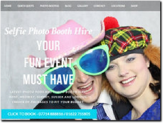http://www.selfiephotoboothhire.co.uk website