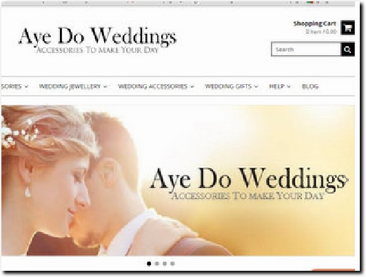 http://www.ayedoweddings.co.uk/ website