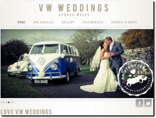 http://www.vwweddingswales.co.uk website