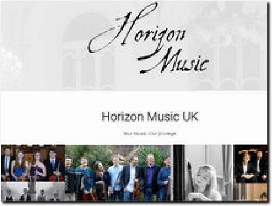 http://www.horizonmusic.uk website