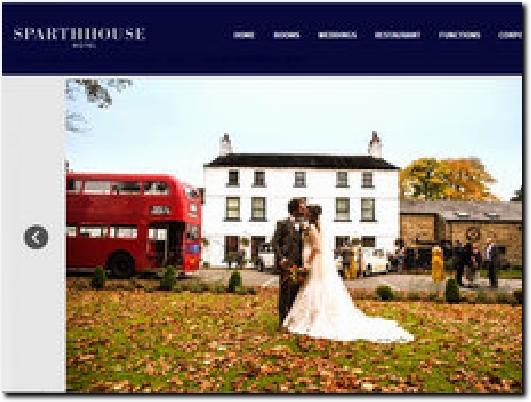 http://www.sparthhousehotel.co.uk/weddings/ website