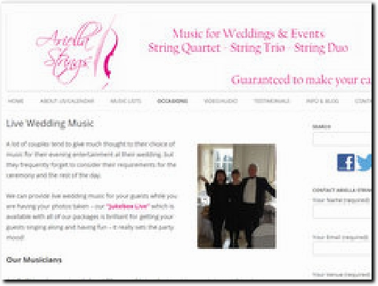 http://www.ariellastrings.co.uk website