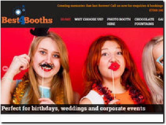 http://www.best4booths.co.uk website