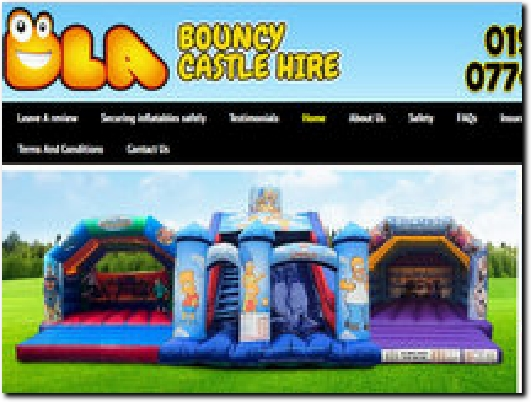 http://www.dlabouncycastlehire.co.uk website