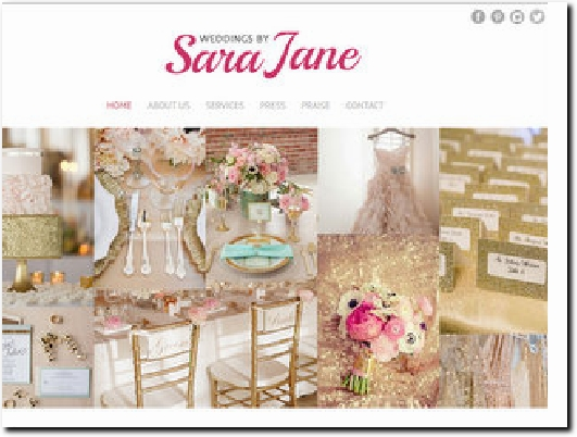 http://www.weddingsbysarajane.com website