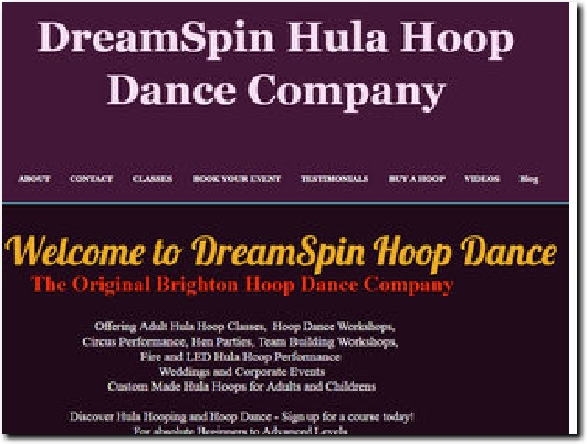 http://www.dreamspin.co.uk website