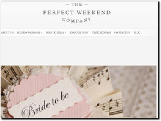http://www.theperfectweekendcompany.com/ website