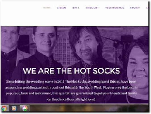 http://www.thehotsocks.co.uk/ website