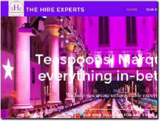 http://www.thehireexperts.co.uk website