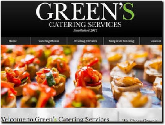 http://www.greens-catering.co.uk website