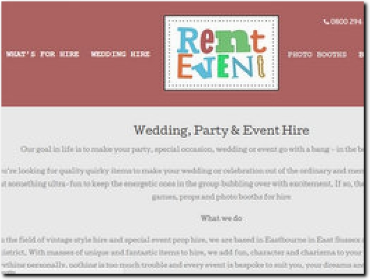 http://www.Rent-Event.co.uk website