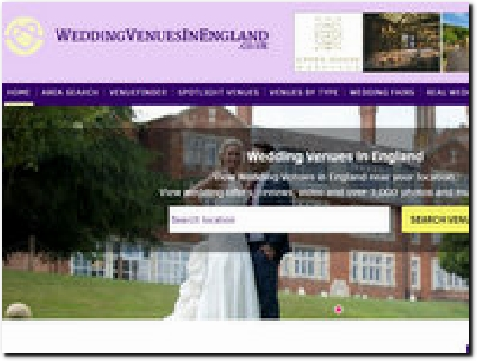 http://www.weddingvenuesinengland.co.uk/ website