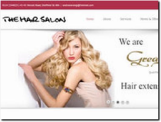 http://www.the-hair-salon.co.uk website
