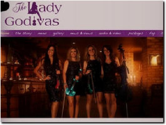 http://www.theladygodivas.com website