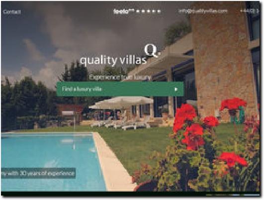 https://www.qualityvillas.com website