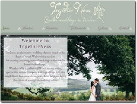 http://www.togetherness-creativeweddingsinwales.com website