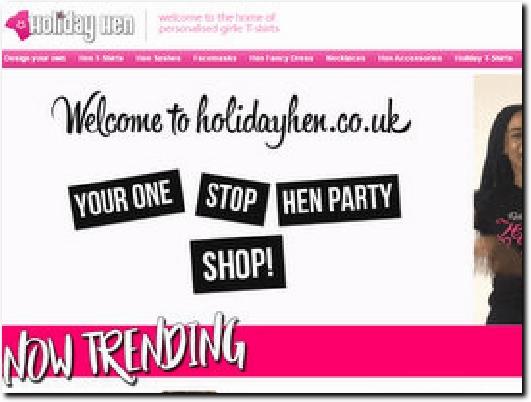 http://www.holidayhen.co.uk/ website