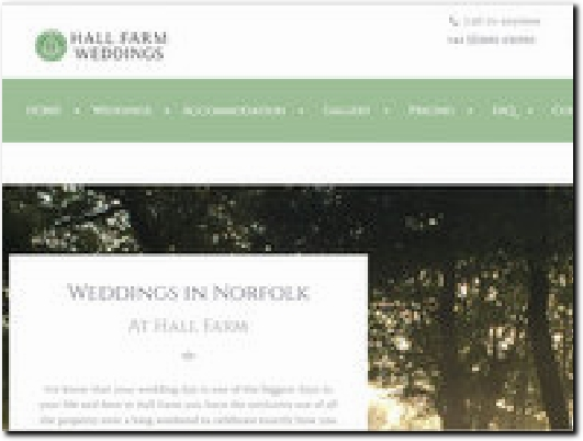 http://weddings-norfolk.com website