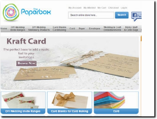 http://www.thepaperbox.co.uk website